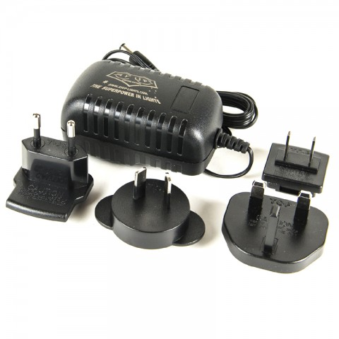 CHARGING ADAPTOR WITH ALL COUNTRY CLIPS -  DOES NOT INCLUDE CHARGER